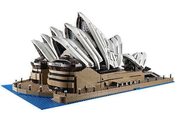 Recreate one of the most iconic buildings in the world! Super deluxe Lego version of the Sydney Opera House.