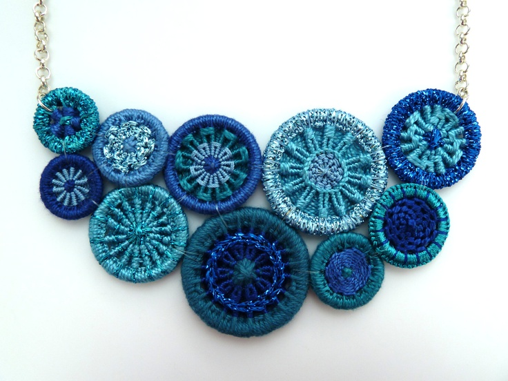 Dorset buttons.....LOVE these colours!