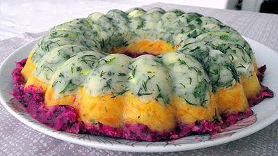 Üç Renkli Salata