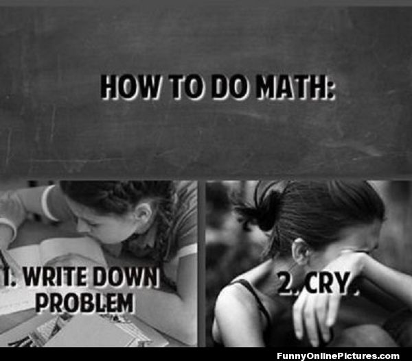 Why is or isnt math important in yuor life?