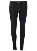 Womens Indigo Ashley Straight Jeans- Blue