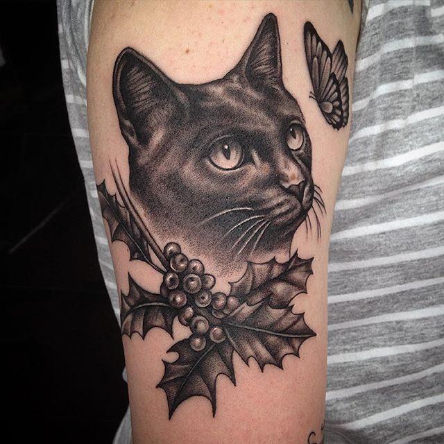 1000 best Cat Tattoo Designs images on Pinterest | Black