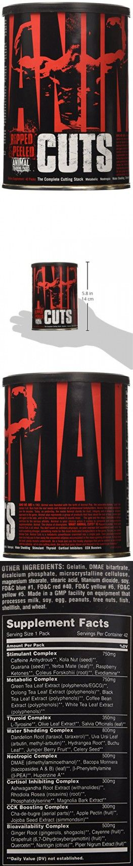 Universal Nutrition Animal Cuts Ripped and Peeled Thermogenic Fat Burner Supplement