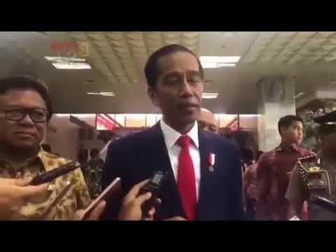 [Lucu !!!] Tanggapan P. JOKOWI, Setya Novanto Kepala Benjol Segede Bakpao