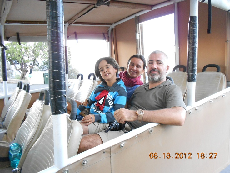 Guests enjoying the Sunset Tour with Grand Canyon Jeep