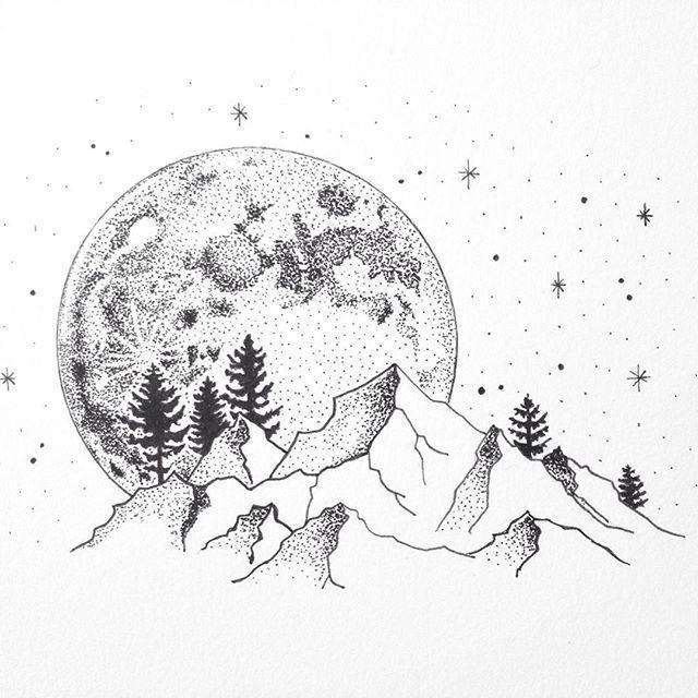 Line Drawing Moon : Best line art design ideas on pinterest