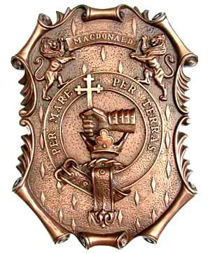 Clan Donald Crest - Clan Motto: Per Mare Per Terras (By sea and land)