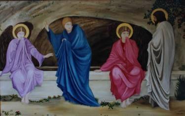 The Morning of the Resurrection (after E. Burne-Jones)