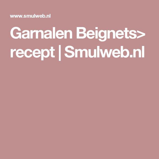 Garnalen Beignets> recept | Smulweb.nl