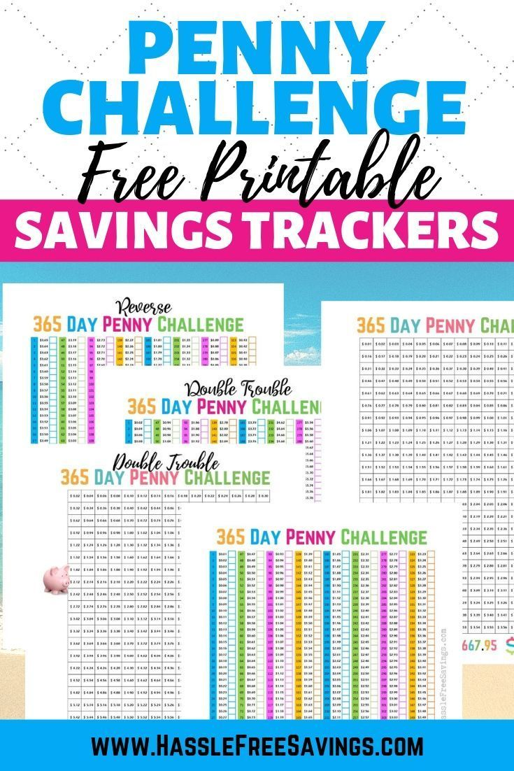 Penny Saving Challenge 10 Different Variations In 2020 Savings Challenge Money Saving Plan 365 Day Penny Challenge