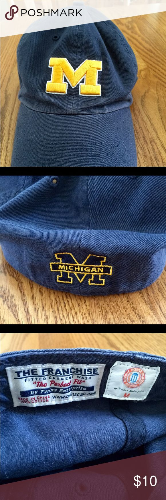 U of M Kids Baseball Hat Boys or girls University of Michigan Baseball Hat. Size Medium. Fits probably 5 and up. Go Big Blue!! Other