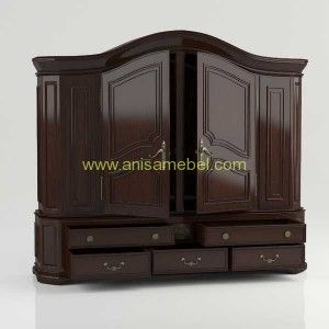 Lemari Pakaian Minimalis Murah | minimalist teak wardrobe | Furniture Store | Furniture Jepara | Mebel Jepara | Mebel Jati  http://anisamebel.com