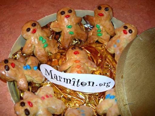 Mannele (petits bonhommes) à la pâte à brioche (Alsace) : Recette de Mannele (petits bonhommes) à la pâte à brioche (Alsace) - Marmiton