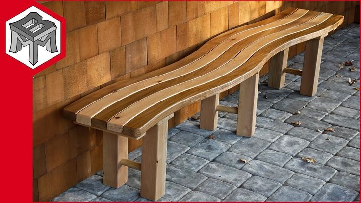 How To Make A Curved Outdoor Garden Bench 400 x 300