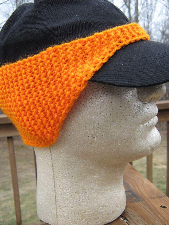 Pattern For Knitted Baseball Cap Ear Warmer By