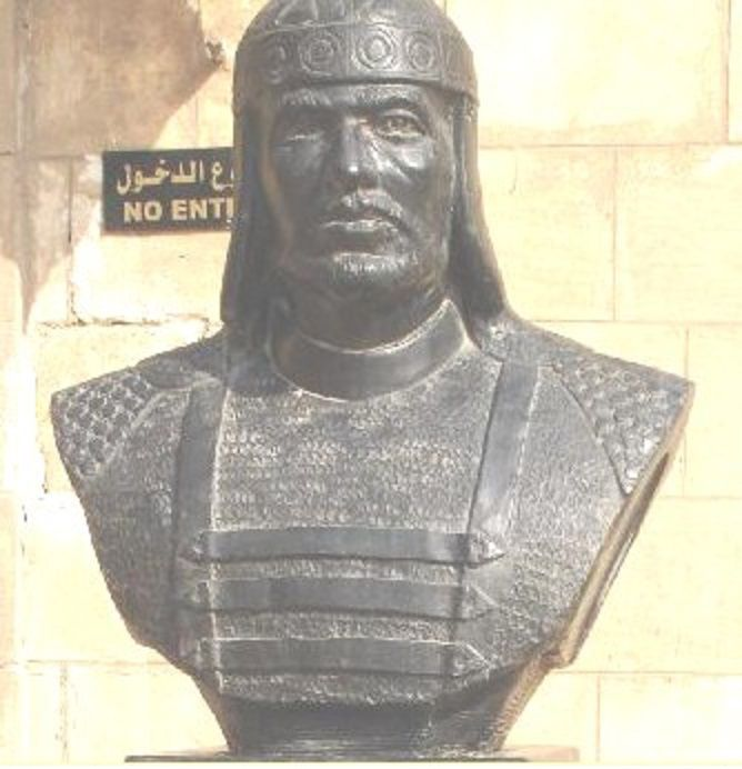 The hero Baibars Mamluk Sultan of Egypt who reigned from 1260 to 1277 winner of the Crusaders and the Mongols