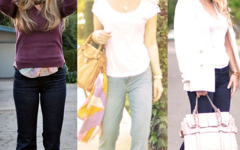 Be it collegiate prep, bohemian, rock star cool, laid back, or working girl, flare leg jeans are classics. Here are 15 ways I wear my favorite flares.