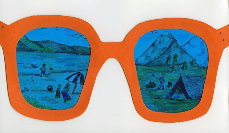 "Shades of Fun Sunglasses. Could be fun for end of the year ""what I see myself doing this summer"""