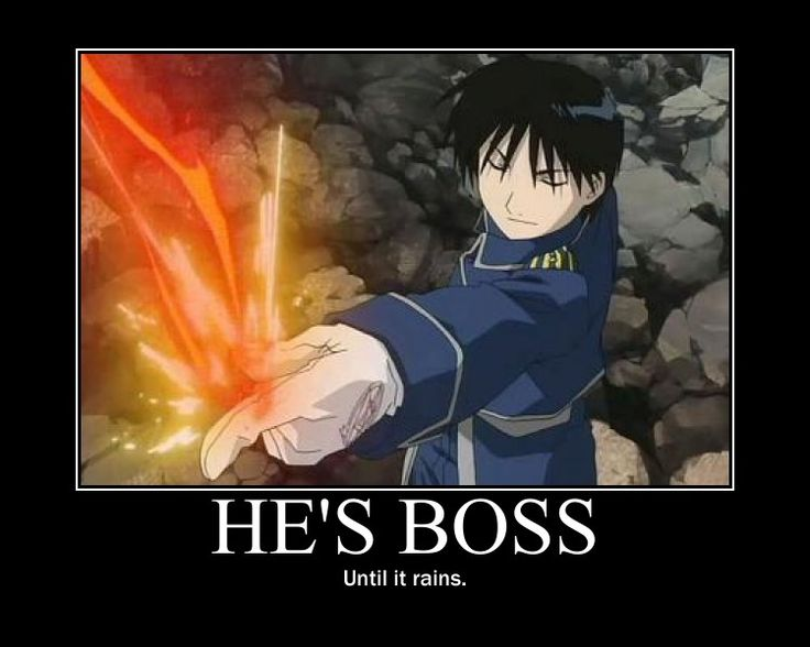 FMA: Boss by bluecat180.deviantart.com on @deviantART