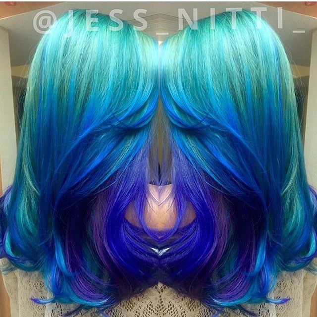 hair styles and colors 25 best ideas about mermaid waves on 4083