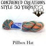 Style 50 Yards - Pillbox Hat: Style 50, Pillbox Has