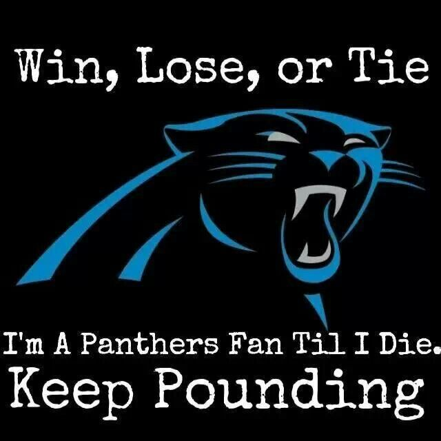 Amen! You may have lost, you may have handed the broncos victory XD, but I won't stop supporting you! (insert cheesy inspirational quote) #KeepOnPounding