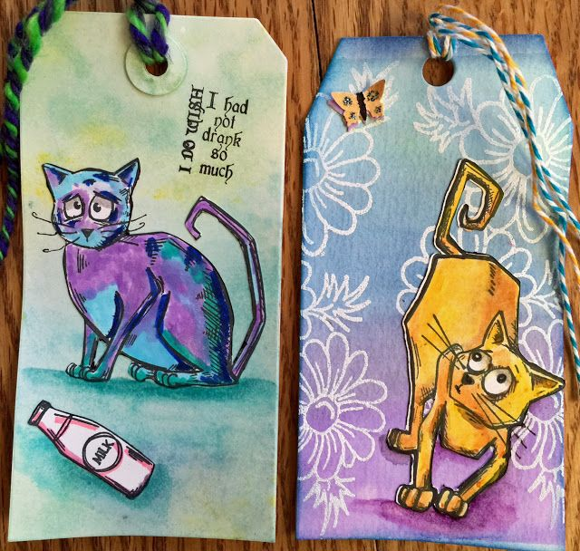 Crazy cats tags