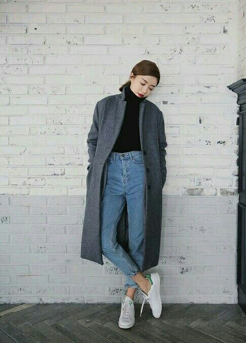 love the coat and how it's styled