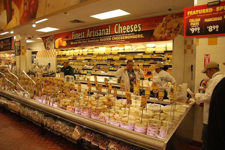 Fairway's Artisanal Cheese Shop