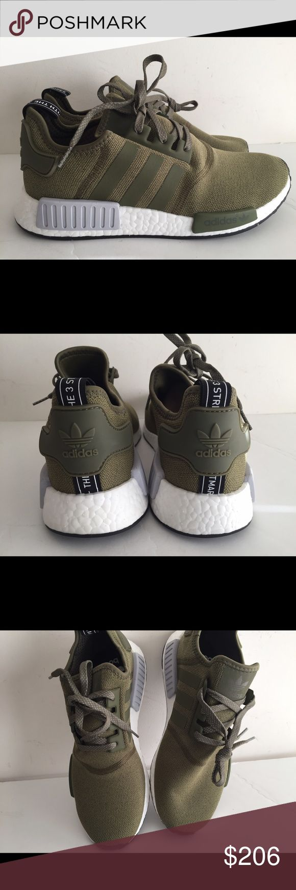 Adidas NMD R 1 Olive sz 10.5 Brand new with original box Adidas Shoes Sneakers