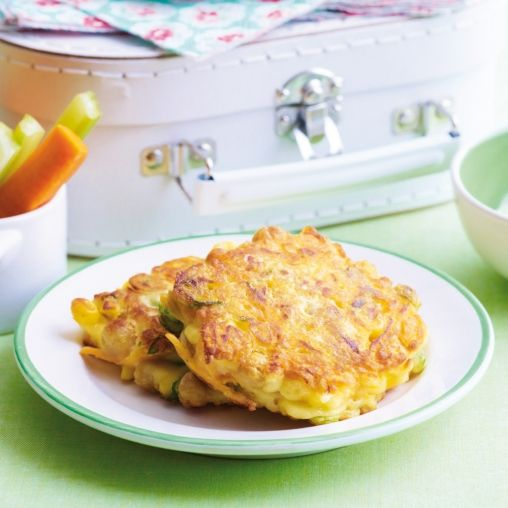 Chickpea and vege fritters | Healthy Food Guide