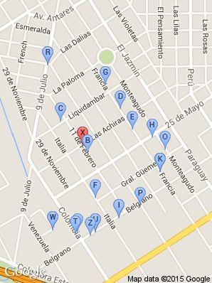 lugares cerca de 4 E/ Las Achiras Y 25 De Mayo 1567 (Colegio San Marcos) en El Talar De Pacheco