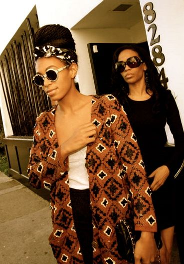 Circle Shades Box Braids Scarf Long Ethnic Sweater Per