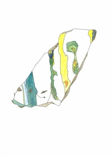 "Saatchi Art Artist Hanna Gro; Painting, ""OPAL mineral"" #art"