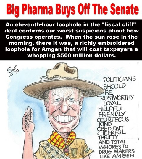Image result for how much to pharmaceuticals pay politicians?