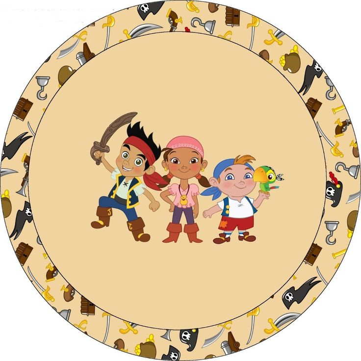 11 best Jake and the Neverland Pirates Party Theme images on ...