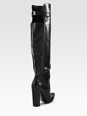 Alexander Wang -: Leather Over The Kne, Perfect Shoes, Kolfinna Leather, Fishnet, Leather Boots, Over The Kne Boots, Shoes Lust, Boots Sho, Shoes Porn