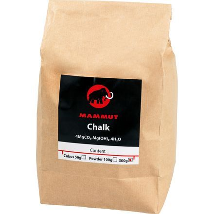 Mammut's Chalk Powder has enough fine magnesium carbonate for refilling your chalk bag up to three times; that's like three bouldering sessions for the craziest climbers out there.