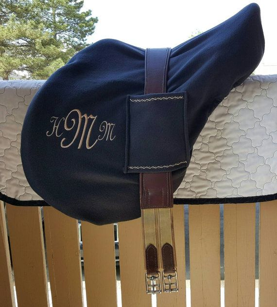 Deluxe English Saddle Cover with Handy Girth by ManeAlternative