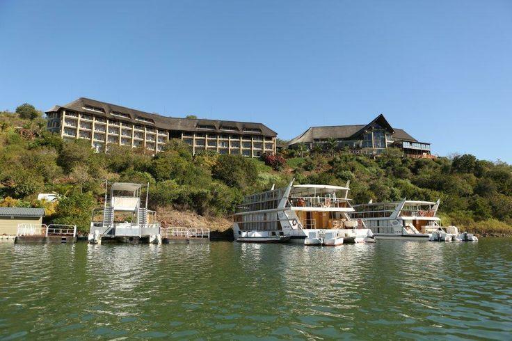 The Lodge from Lake Jozini