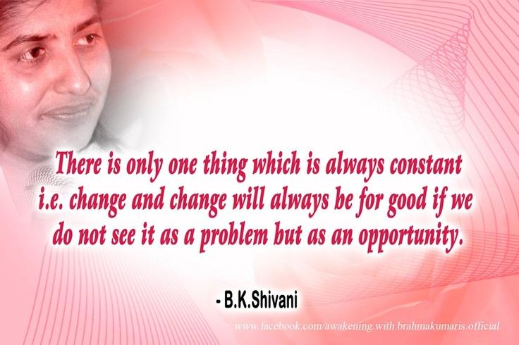 Change - BK Shivani