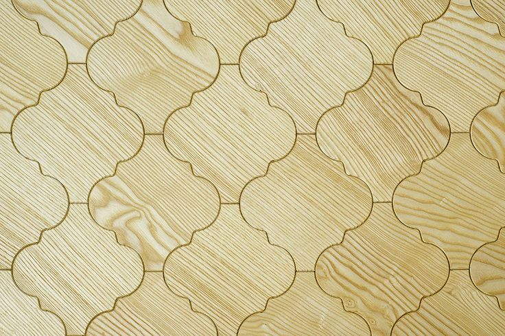 Original parquet made of pine wood.