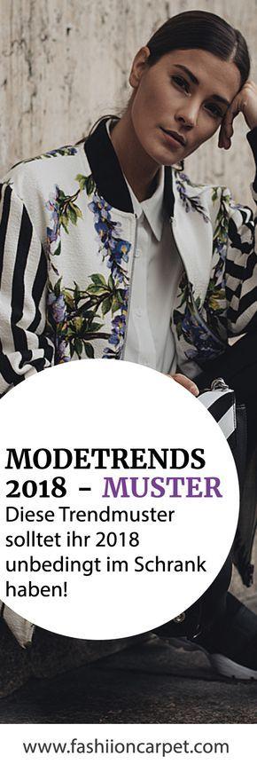 Modetrends 2018: Muster & Drucke (+Stylingtipps) – FarbenReich – Sabina Boddem