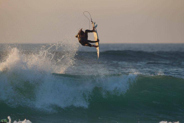 Matt Wilkinson in France.