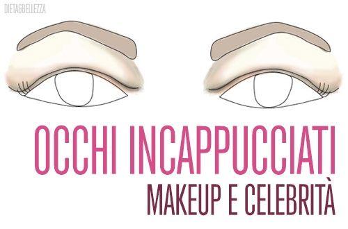forma occhi,occhi incappucciati,trucco occhi,makeup occhi,come fare,tutorial makeup,come truccare gli occhi