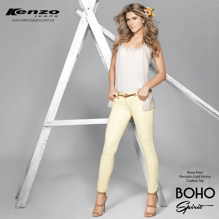 Un #outfit cargado de romanticismo para lucir a mitad de semana #BohoSpirit #KenzoJeans  Conoce más en www.kenzojeans.com.co