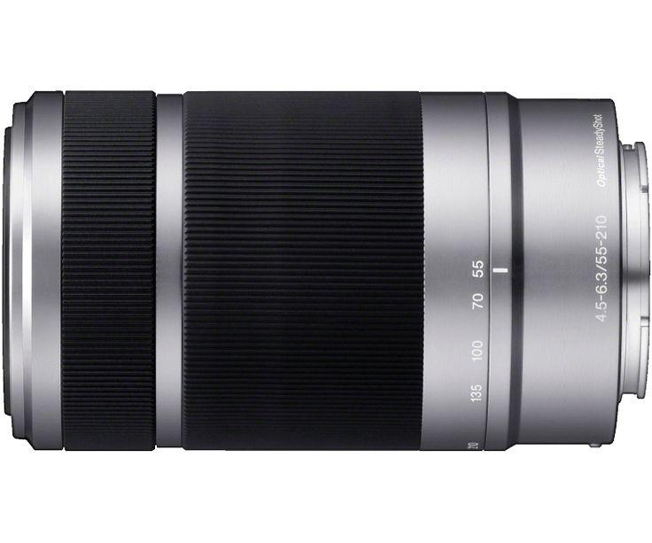 55-210mm f/4.5-6.3 Telephoto Lens | SEL55210 Pour aller sur mon prochain jouet.
