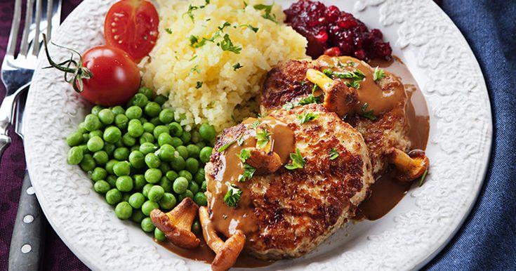 Recept wallenbergare med kycklingfärs