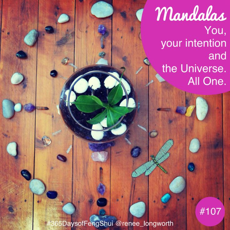 What are Mandalas? #Feng Shui Day #107 (Sacred Space) Mandala's. As some of you may have noticed, I love creating healing mandalas. They are, in fact, a sacred space all of their own. Mandalas have been used for centuries and for many different purposes and occasions. The best thing with mandalas is that you can create them…