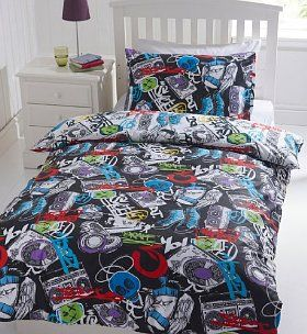 Urban Graffiti Bedding Set In 2019 Lenox S Room Teen
